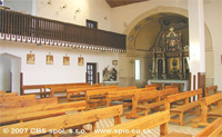 interier kostola
